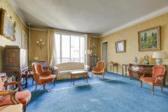 Appartement 222 m2 à PARIS 16 square lamartine 2 500 000 €