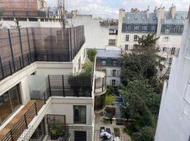 appartement deux pièces- terrasse Passy/Muette